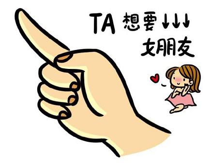 TA要礼物 表情包