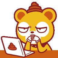 悠克熊 表情包