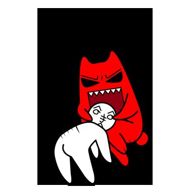 超萌的魔鬼猫-静态篇表情包来啦,可爱已经很吃香了,可你还这么骚气图片