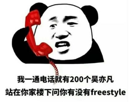 freesttyle 表情包