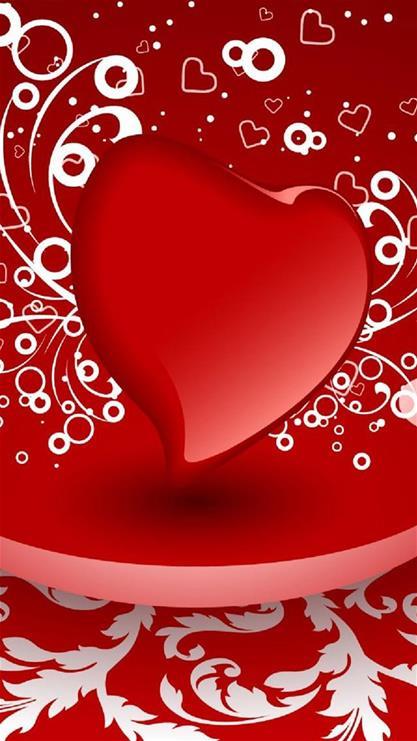 iphone6plus爱情红色壁纸_iphone6plus爱情红色壁纸