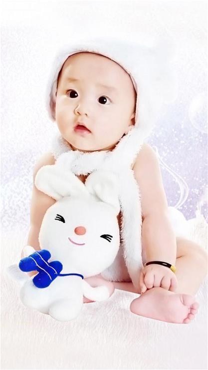 宝宝 壁纸 儿童 孩子 小孩 婴儿 417_741 竖版 竖屏 手机