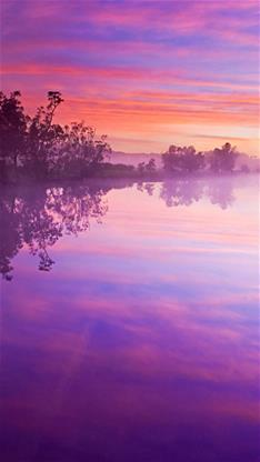 iphone6風景紫色壁紙_iphone6風景紫色壁紙下載
