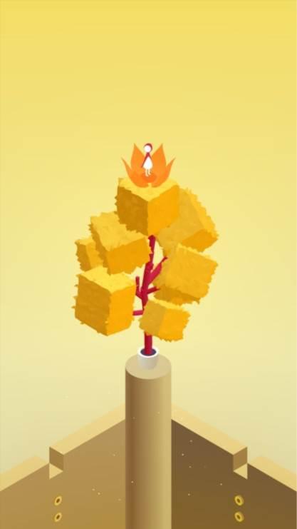 纪念碑谷2,纪念碑谷,游戏壁纸,屏锁,唯美,黄色