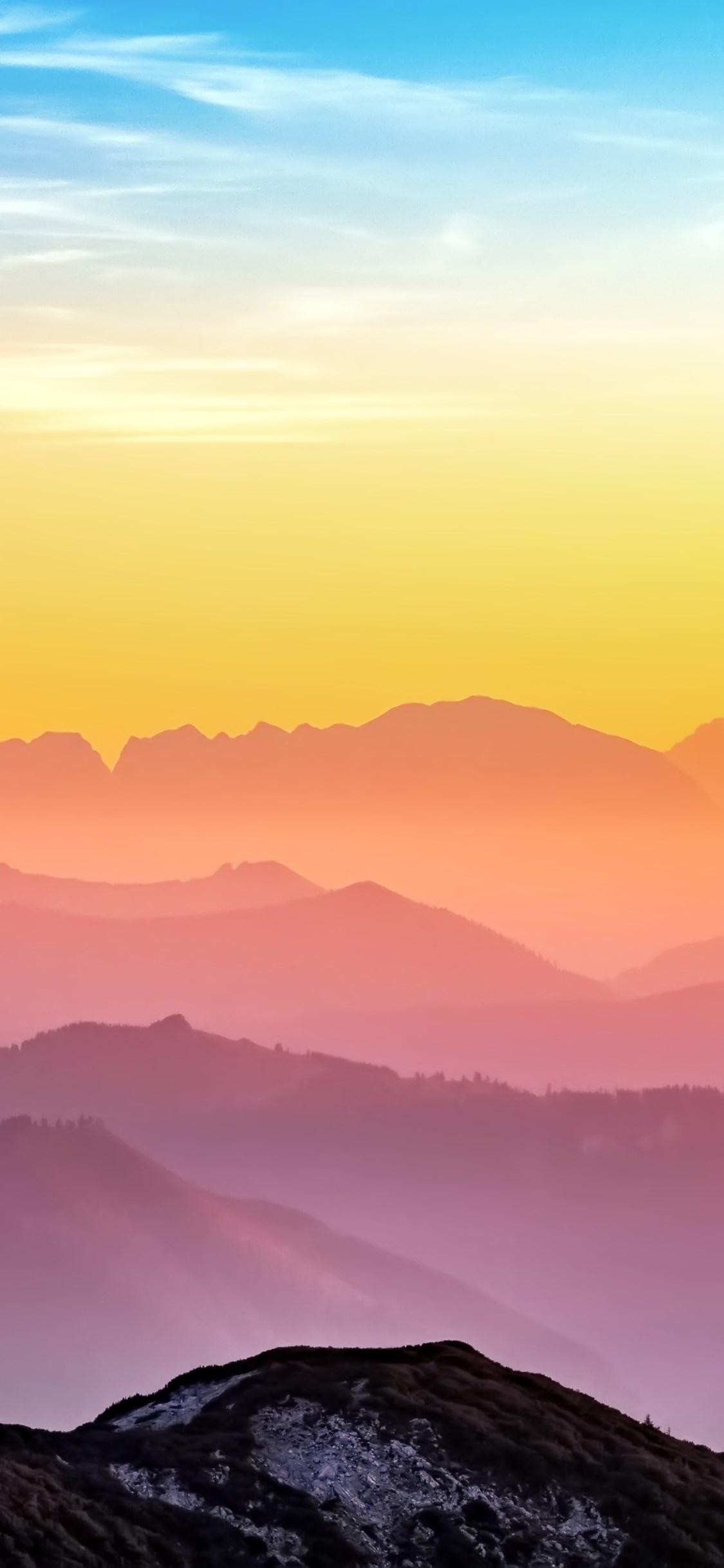 背景 壁纸 风景 天空 桌面 1125_2436 竖版 竖屏 手机