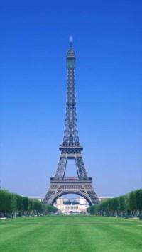 铁塔,蓝天,树,风景,彩色